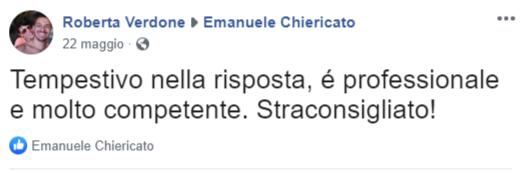 Emanuele Chiericato - Opinione Roberta