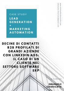 Caso studio Lead Generation B2B Linkedin ADS ERP